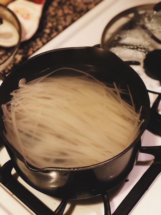 Thai Noodles Before