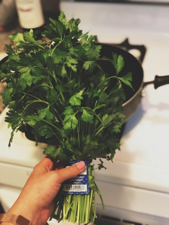Fresh herbs are necessary