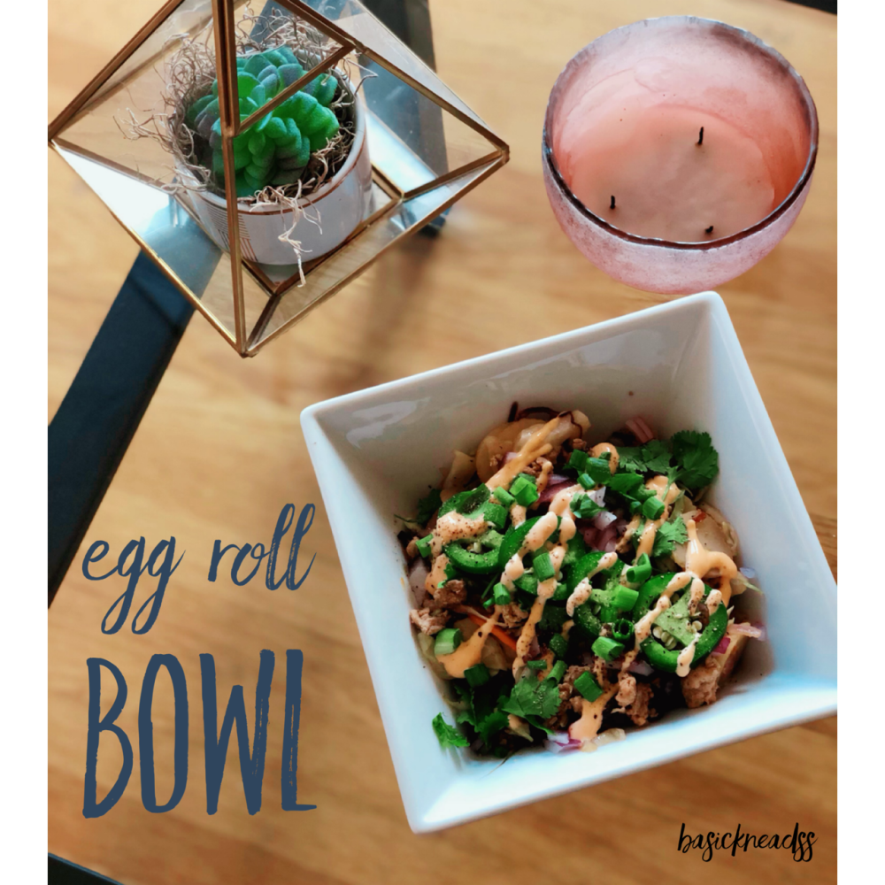egg roll bowl 1
